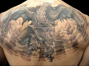 Фото татуировки дракон от 24.09.2018 №181 - dragon tattoo - tattoo-photo.ru