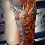 Фото татуировки дракон от 24.09.2018 №184 - dragon tattoo - tattoo-photo.ru