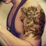 Фото татуировки дракон от 24.09.2018 №186 - dragon tattoo - tattoo-photo.ru