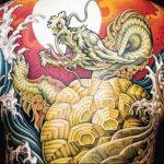 Фото татуировки дракон от 24.09.2018 №189 - dragon tattoo - tattoo-photo.ru