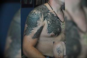 Фото татуировки дракон от 24.09.2018 №194 - dragon tattoo - tattoo-photo.ru