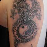 Фото татуировки дракон от 24.09.2018 №199 - dragon tattoo - tattoo-photo.ru