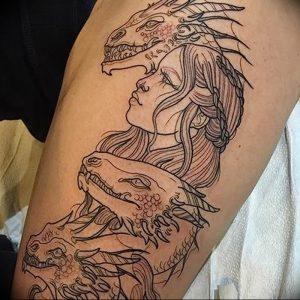 Фото татуировки дракон от 24.09.2018 №202 - dragon tattoo - tattoo-photo.ru