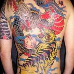 Фото татуировки дракон от 24.09.2018 №203 - dragon tattoo - tattoo-photo.ru