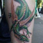 Фото татуировки дракон от 24.09.2018 №208 - dragon tattoo - tattoo-photo.ru