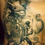 Фото татуировки дракон от 24.09.2018 №210 - dragon tattoo - tattoo-photo.ru