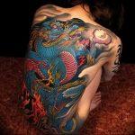 Фото татуировки дракон от 24.09.2018 №220 - dragon tattoo - tattoo-photo.ru