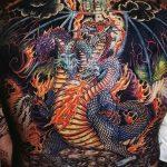 Фото татуировки дракон от 24.09.2018 №223 - dragon tattoo - tattoo-photo.ru