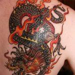 Фото татуировки дракон от 24.09.2018 №229 - dragon tattoo - tattoo-photo.ru
