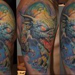 Фото татуировки дракон от 24.09.2018 №233 - dragon tattoo - tattoo-photo.ru