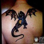 Фото татуировки дракон от 24.09.2018 №235 - dragon tattoo - tattoo-photo.ru