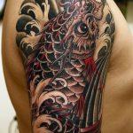 Фото татуировки дракон от 24.09.2018 №245 - dragon tattoo - tattoo-photo.ru