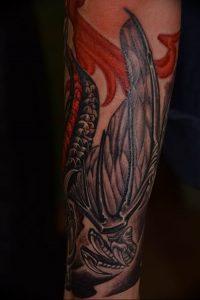 Фото татуировки дракон от 24.09.2018 №257 - dragon tattoo - tattoo-photo.ru