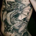 Фото татуировки дракон от 24.09.2018 №260 - dragon tattoo - tattoo-photo.ru