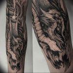 Фото татуировки дракон от 24.09.2018 №264 - dragon tattoo - tattoo-photo.ru