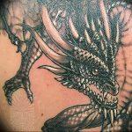 Фото татуировки дракон от 24.09.2018 №267 - dragon tattoo - tattoo-photo.ru