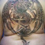 Фото татуировки дракон от 24.09.2018 №268 - dragon tattoo - tattoo-photo.ru