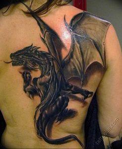 Фото татуировки дракон от 24.09.2018 №275 - dragon tattoo - tattoo-photo.ru