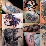 Фото татуировки дракон от 24.09.2018 №276 - dragon tattoo - tattoo-photo.ru