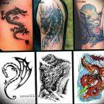 Фото татуировки дракон от 24.09.2018 №277 - dragon tattoo - tattoo-photo.ru