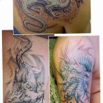 Фото татуировки дракон от 24.09.2018 №278 - dragon tattoo - tattoo-photo.ru