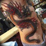Фото татуировки дракон от 24.09.2018 №282 - dragon tattoo - tattoo-photo.ru