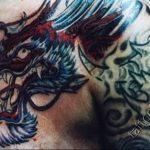Фото татуировки дракон от 24.09.2018 №296 - dragon tattoo - tattoo-photo.ru