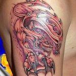 Фото татуировки дракон от 24.09.2018 №298 - dragon tattoo - tattoo-photo.ru