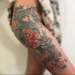 Фото татуировки дракон от 24.09.2018 №300 - dragon tattoo - tattoo-photo.ru