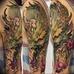 Фото татуировки дракон от 24.09.2018 №302 - dragon tattoo - tattoo-photo.ru
