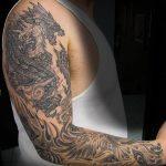 Фото татуировки дракон от 24.09.2018 №313 - dragon tattoo - tattoo-photo.ru