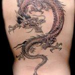 Фото татуировки дракон от 24.09.2018 №314 - dragon tattoo - tattoo-photo.ru