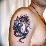 Фото татуировки дракон от 24.09.2018 №318 - dragon tattoo - tattoo-photo.ru