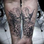Фото татуировки дракон от 24.09.2018 №319 - dragon tattoo - tattoo-photo.ru