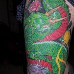 Фото татуировки дракон от 24.09.2018 №321 - dragon tattoo - tattoo-photo.ru