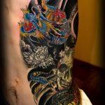 Фото татуировки дракон от 24.09.2018 №322 - dragon tattoo - tattoo-photo.ru