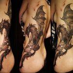 Фото татуировки дракон от 24.09.2018 №327 - dragon tattoo - tattoo-photo.ru