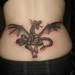 Фото татуировки дракон от 24.09.2018 №328 - dragon tattoo - tattoo-photo.ru