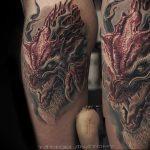 Фото татуировки дракон от 24.09.2018 №333 - dragon tattoo - tattoo-photo.ru