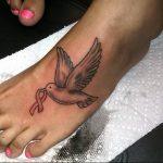 Фото тату голубь 26.10.2018 №006 - tattoo dove - tattoo-photo.ru