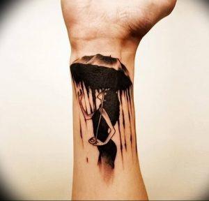 Фото рисунка тату зонтик 06.10.2018 №003 - tattoo umbrella - tattoo-photo.ru