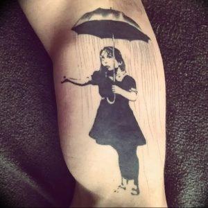 Фото рисунка тату зонтик 06.10.2018 №028 - tattoo umbrella - tattoo-photo.ru