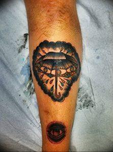 Фото рисунка тату зонтик 06.10.2018 №068 - tattoo umbrella - tattoo-photo.ru