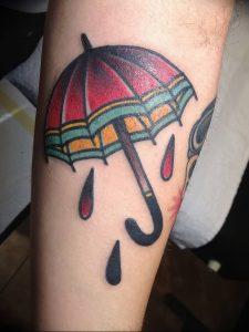 Фото рисунка тату зонтик 06.10.2018 №097 - tattoo umbrella - tattoo-photo.ru