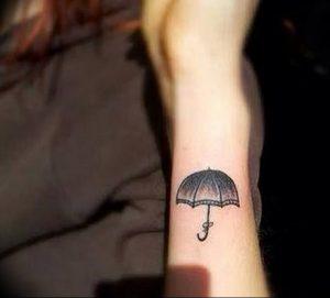 Фото рисунка тату зонтик 06.10.2018 №117 - tattoo umbrella - tattoo-photo.ru