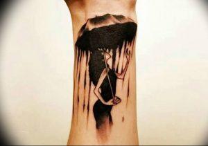 Фото рисунка тату зонтик 06.10.2018 №168 - tattoo umbrella - tattoo-photo.ru