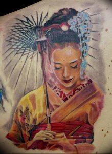 Фото рисунка тату зонтик 06.10.2018 №171 - tattoo umbrella - tattoo-photo.ru