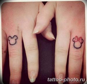 Фото рисунка Тату Микки Маус 20.11.2018 №010 - Tattoo Mickey Mouse - tattoo-photo.ru