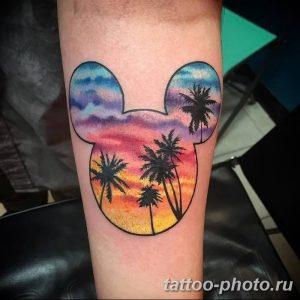 Фото рисунка Тату Микки Маус 20.11.2018 №038 - Tattoo Mickey Mouse - tattoo-photo.ru