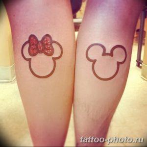 Фото рисунка Тату Микки Маус 20.11.2018 №055 - Tattoo Mickey Mouse - tattoo-photo.ru